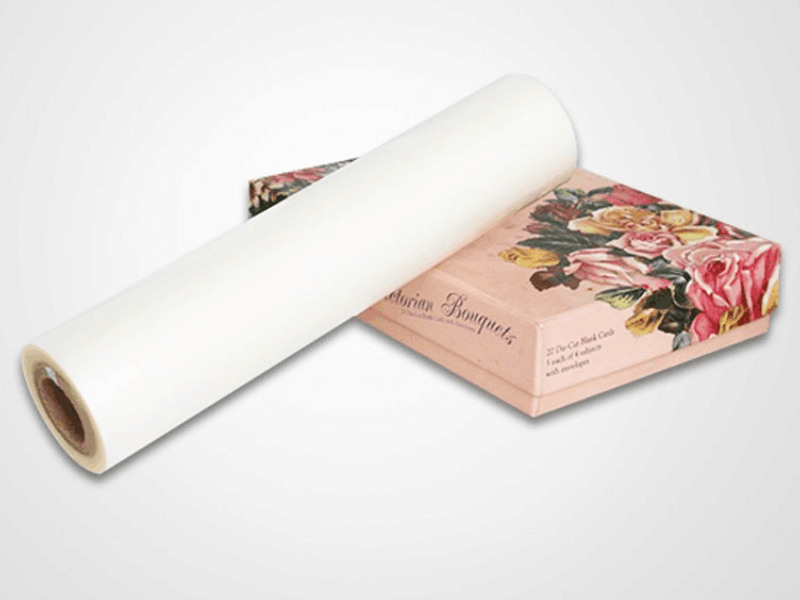 Anti-scratch thermal lamination film 30micron