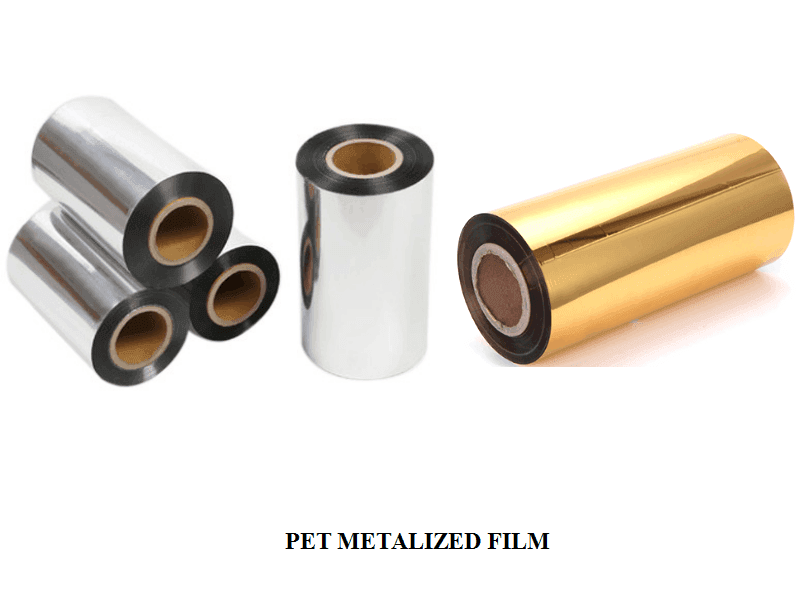 PET (Silver&Golden) Metallized Thermal Lamination Film