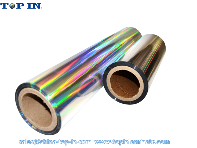 Seamless Rainbow Bopp Holographic Lamination Film/ Bopp Rainbow Hologram Film