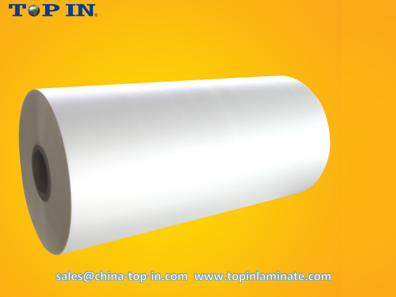 Bopp hot lamination film/Bopp thermal laminate film. (glossy film & matte film)