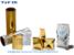 Metallic film /PET metalized thermal lamination film