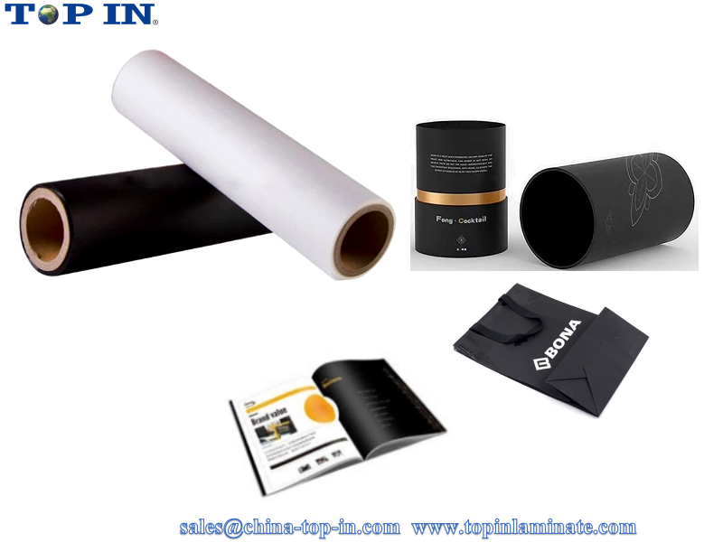 velvet silky thermal lamination film/Soft touch hot lamination film