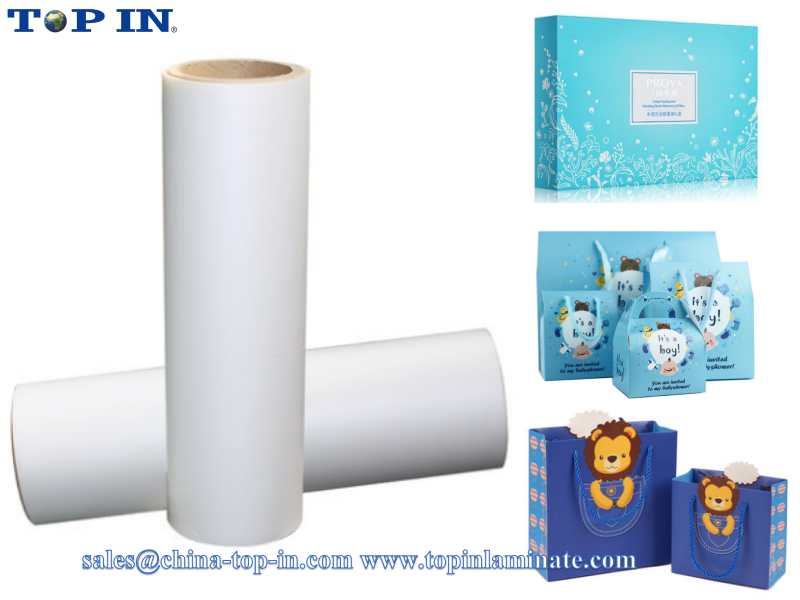 Clear bopp matte velvet soft touch lamination film/30mic soft touch lamination film