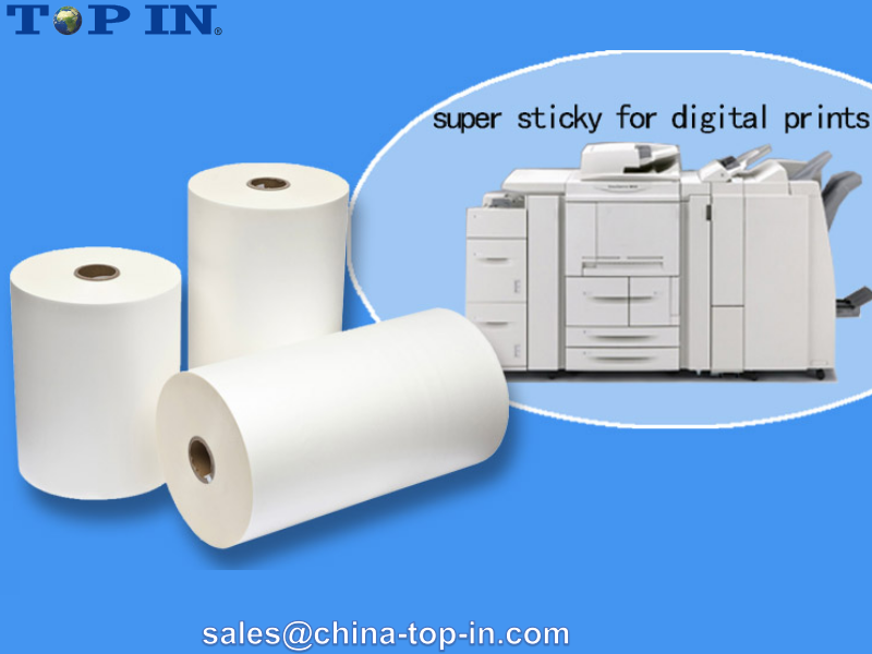 Super Bonding Matt Digital Thermal Lamination Film/ Extra Sticky Digital Thermal Lamination BOPP Film