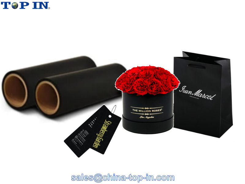 Black Soft Touch Laminating Film /Velvet thermal film