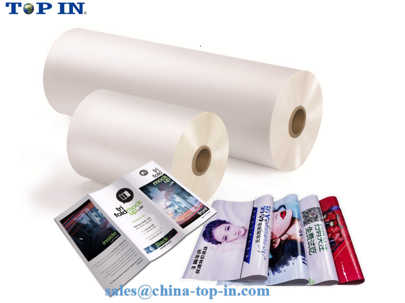 Bopp Thermal film (glossy & matte) for book cover and poster