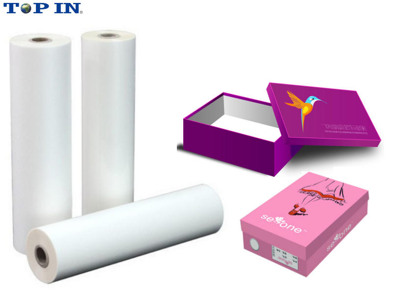High Transparency Velvet Touch Film /Bopp Hot Soft Touch Film