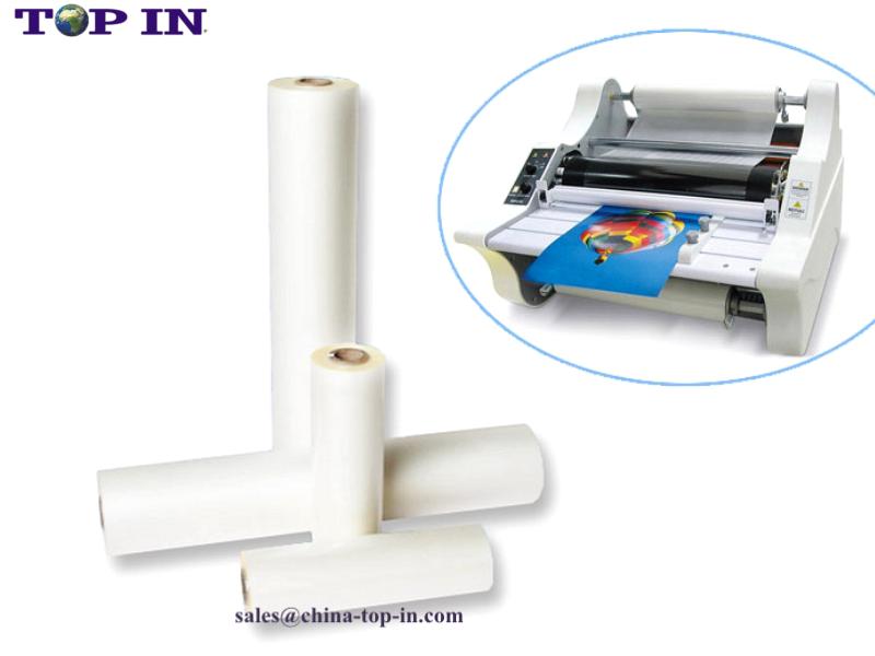 1inch core bopp glossy thermal lamination film