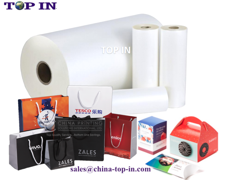27mic digital super bonding bopp lamination film