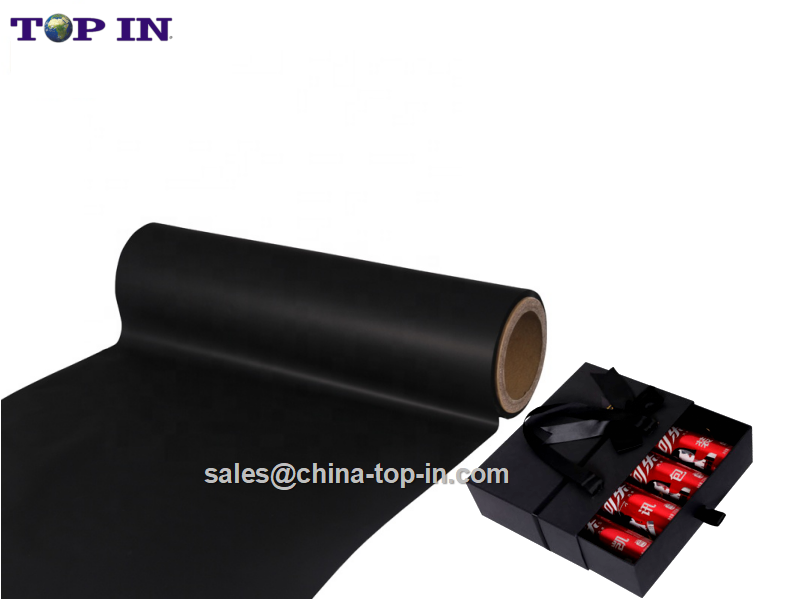Black Soft Touch Hot Lamination Film