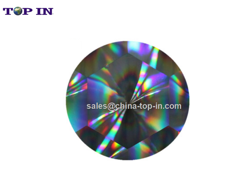 Digital Hot Sleeking Foil-3D Holographic Pattern