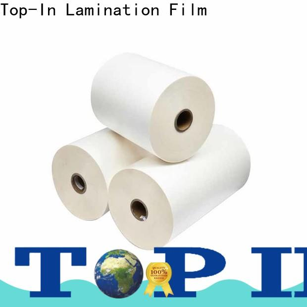 Top-In biaxially oriented polypropylene supplier for posters