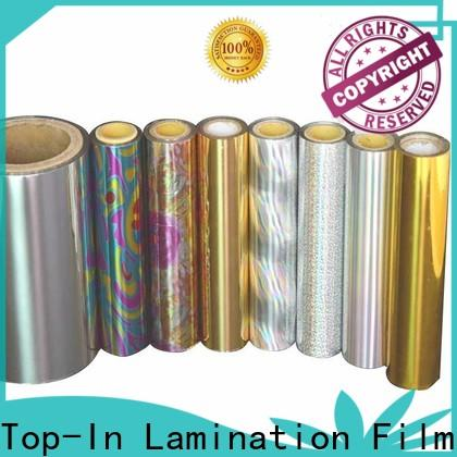 Top-In colorful laser film series for toothpaste boxes