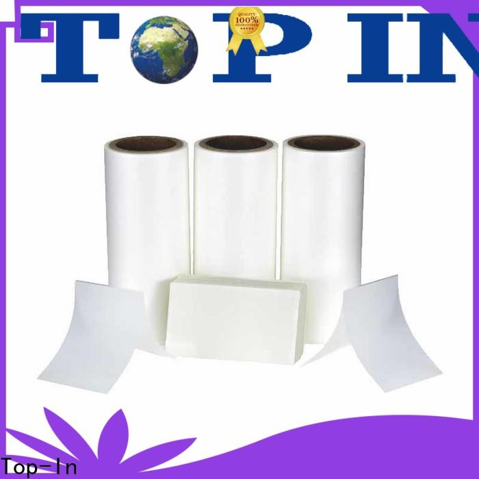 Top-In thermal lamination film manufacturer for packaging