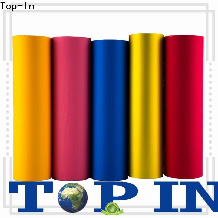 Top-In professional velvet film factory for paper box