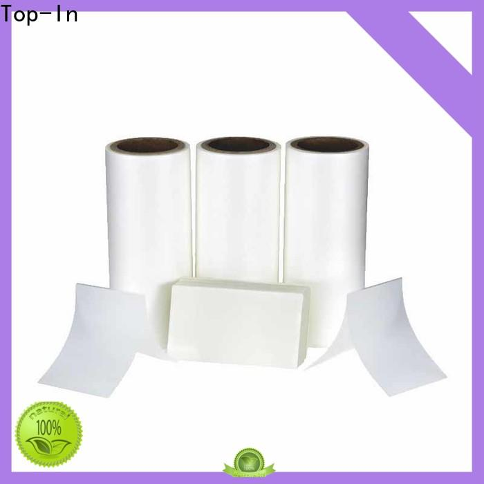 Top-In 30mic Anti-scratch film from China for paper box