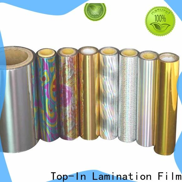 durable laser film series for toothpaste boxes