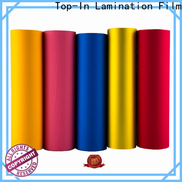 Top-In soft touch film with good price for digital prints