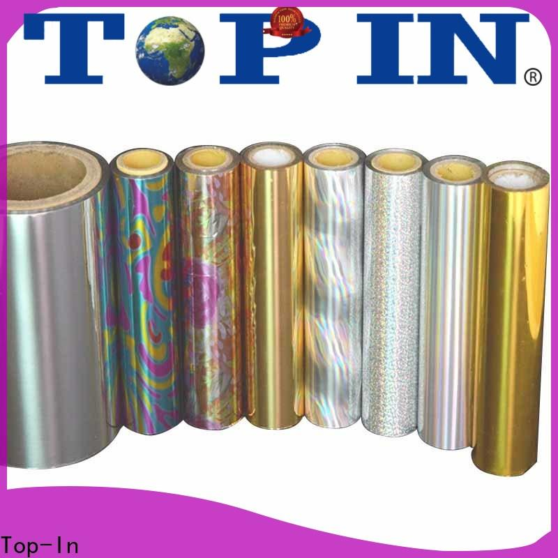 Top-In holographic film directly sale for toothpaste boxes