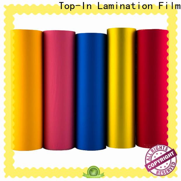 Top-In velvet film factory for luxury packaging