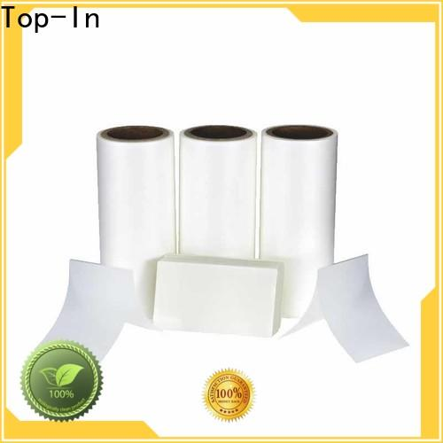 Top-In glossy Anti-scratch film customized for shopping bags