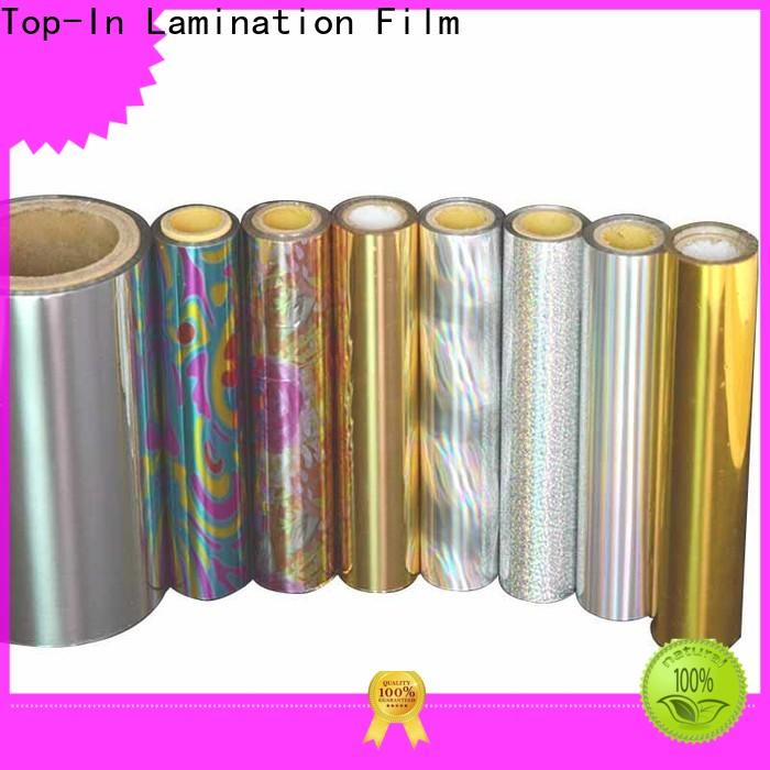 Top-In holographic film manufacturer for gift-wrapping paper