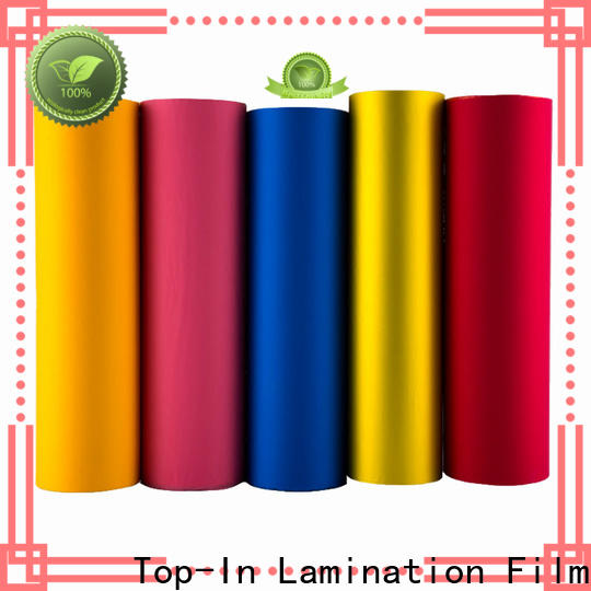 Top-In smooth velvet film at discount for advertising prints