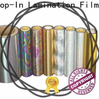 durable laser film customized for cigarette packets