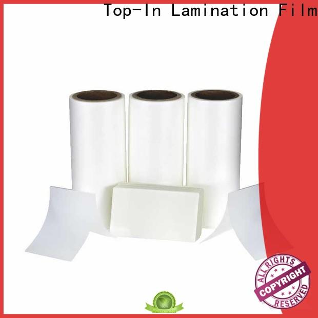 Top-In antiscrtch Anti-scratch film customized for shopping bags