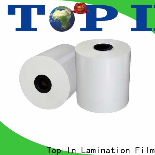 Top-In white bopp supplier for magazines