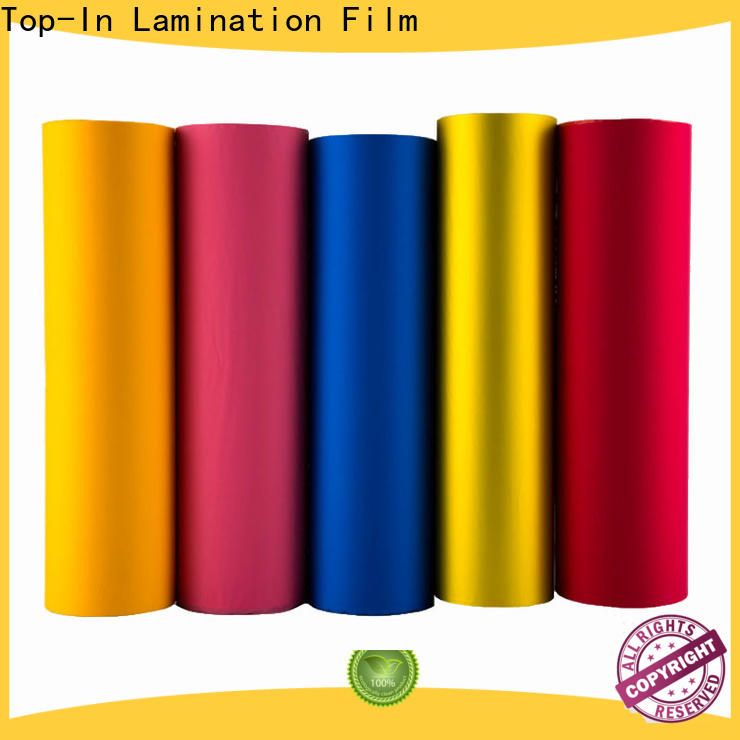 Top-In different color soft touch film with good price for luxury packaging