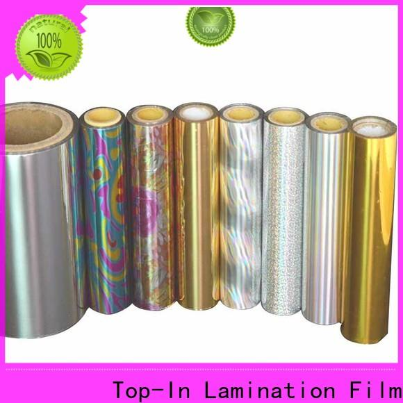 Top-In holographic film series for cigarette packets