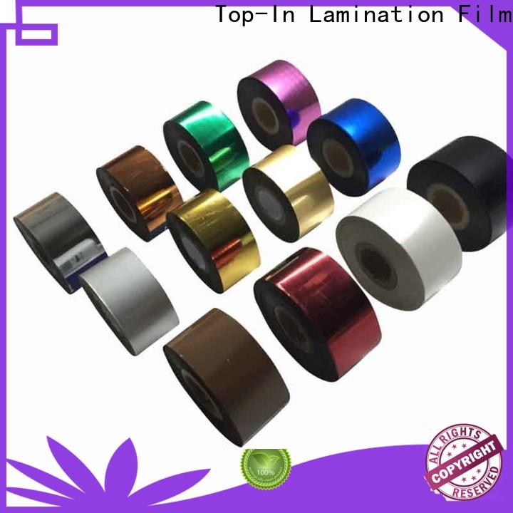 colorful hot stamping foil personalized for certificates