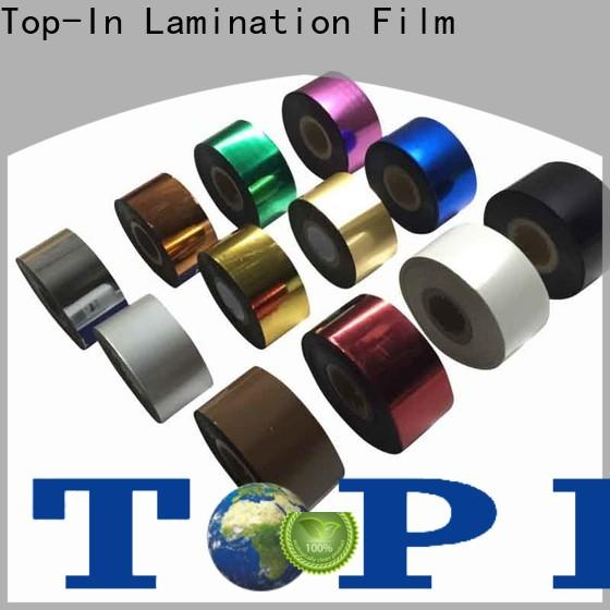 Top-In hot stamping foil supplier for wall pictures