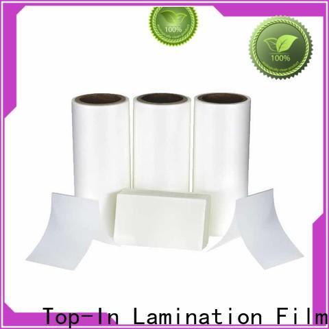 Top-In tensile thermal bopp film customized for packaging