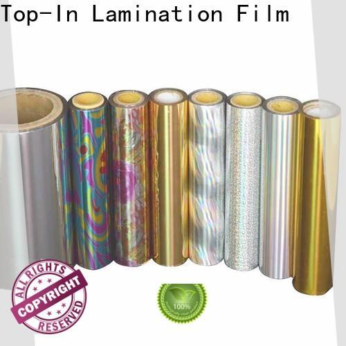 Top-In eva glue laser film manufacturer for cigarette packets