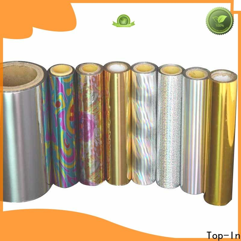 Top-In durable holographic film series for medicine boxes
