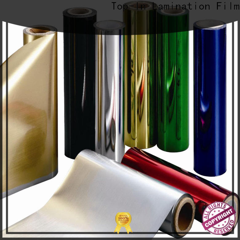 Top-In pet film at discount for alcohol packaging