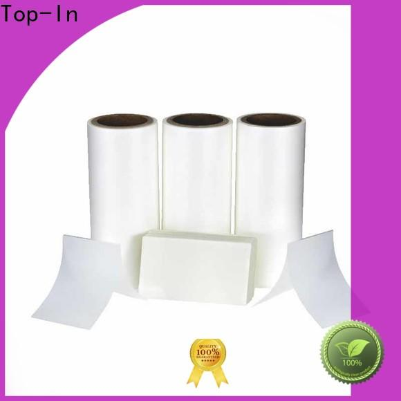 Top-In glossy thermal bopp film series for paper box