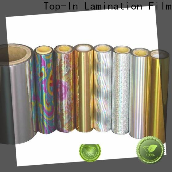 Top-In laser film directly sale for gift-wrapping paper