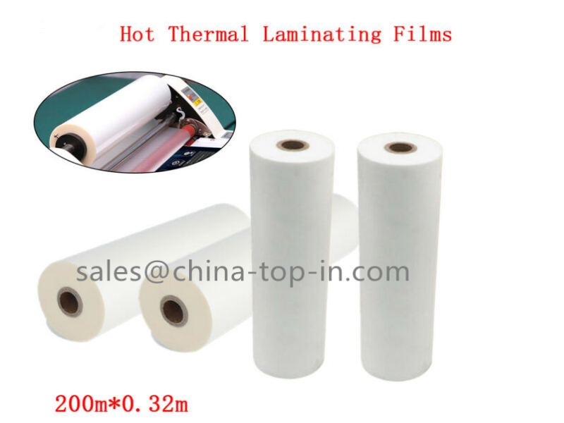 1 Inch Small Roll BOPP Thermal Lamination Film