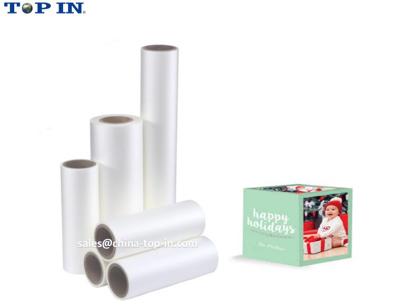 BOPP velvet silky thermal film/Soft touch lamination film