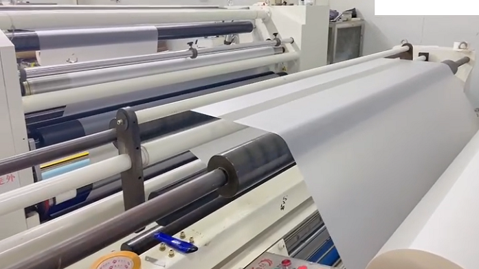 Producing bopp hot lamination film